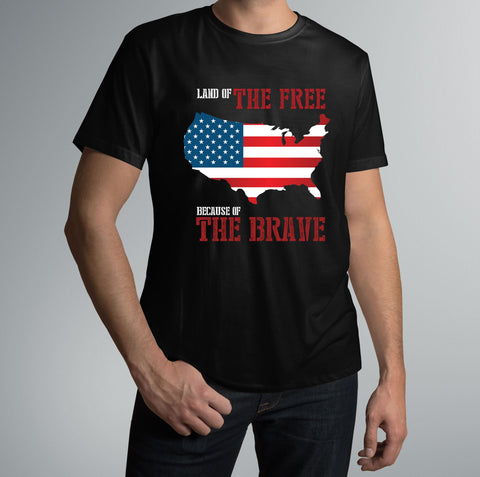 Land Of The Free | Unisex T-Shirt