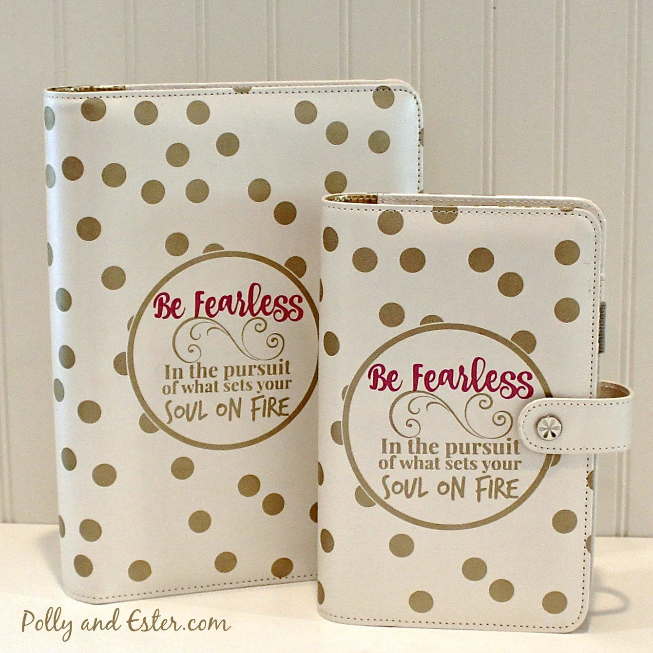 A5 Planner Notebook, 60% OFF Clearance Sale, Be Fearless Quote ...