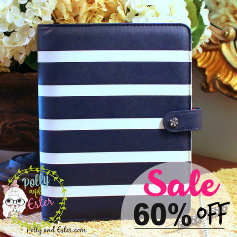 Planner Notebook Binder, CLEARANCE SALE, 60% OFF,  Choose from 6 Colors/Styles