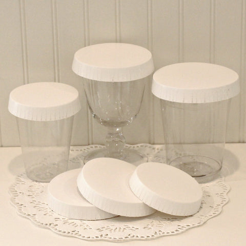 Wine Glass Covers, Hotel Glass Covers, Paper Cup Covers, Drink Protectors