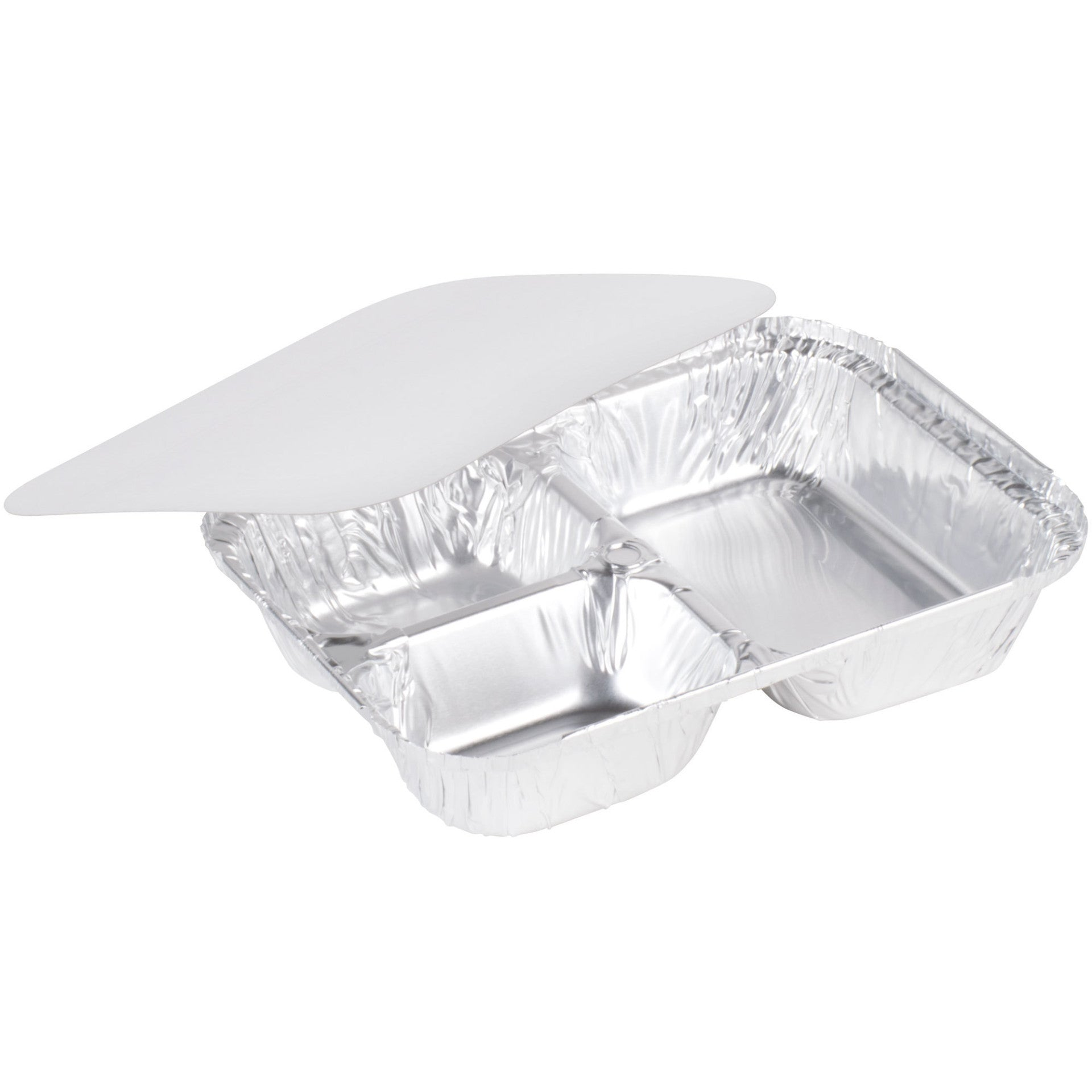 ... TV Dinner Tray Set of 10 Silver Foil Disposable Plates With Lids3 Compartment  sc 1 st  Polly and Ester & TV Dinner Tray Set of 10 Silver Foil Disposable Plates With Lids3 ...