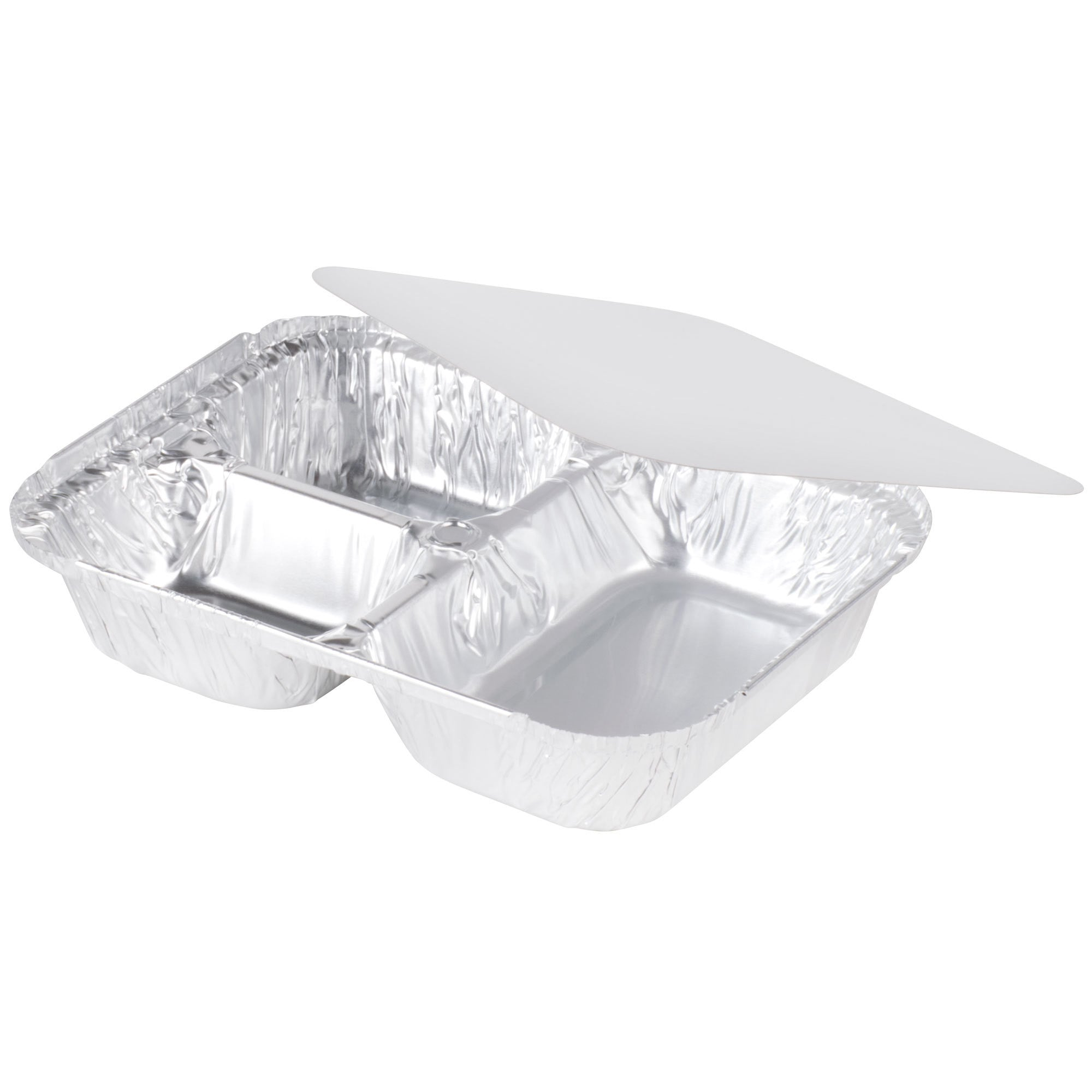tv dinner trays. tv dinner tray, set of 10 silver foil disposable plates with lids,3 compartment tv trays u