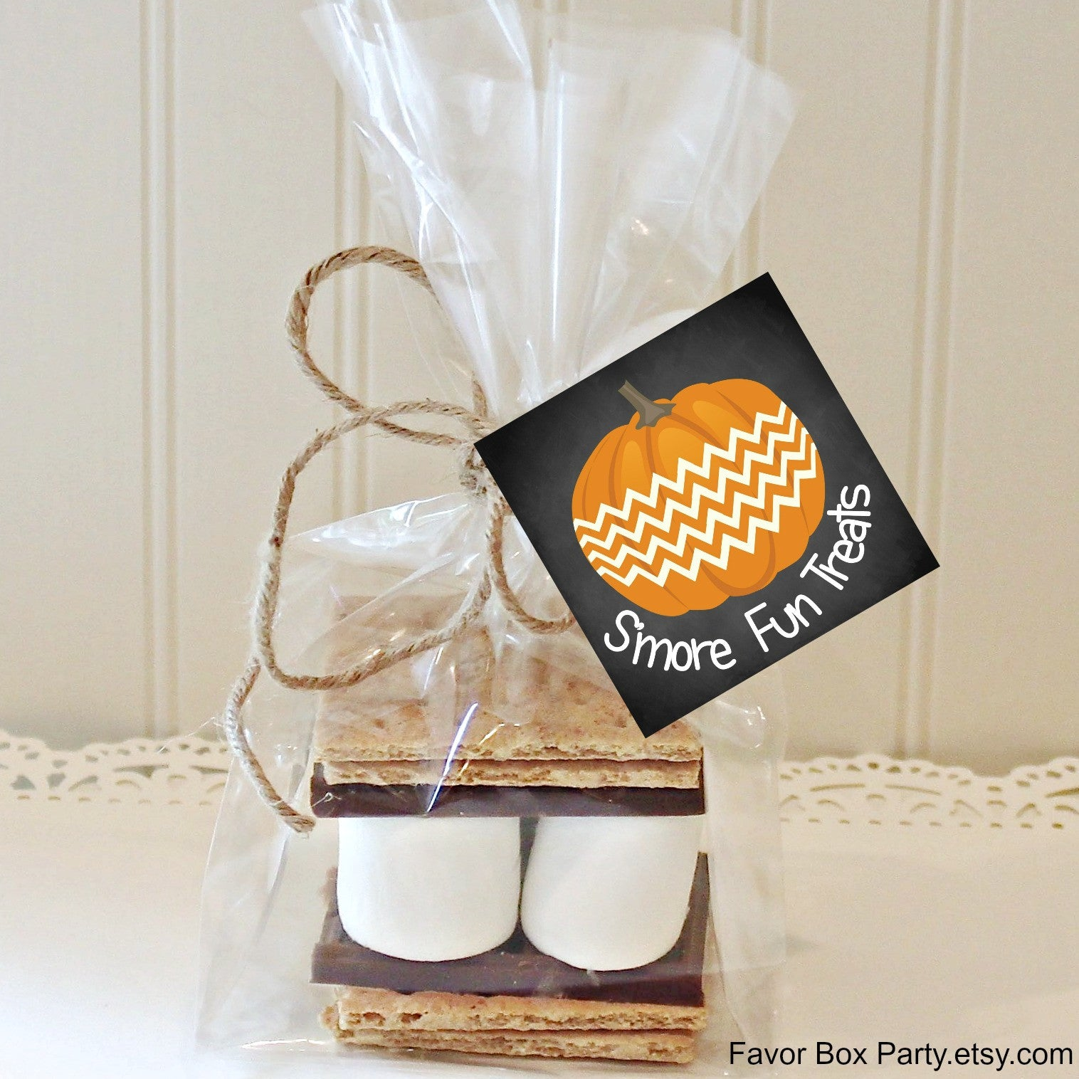 S\'more Halloween Favors, S\'mores Kit, \