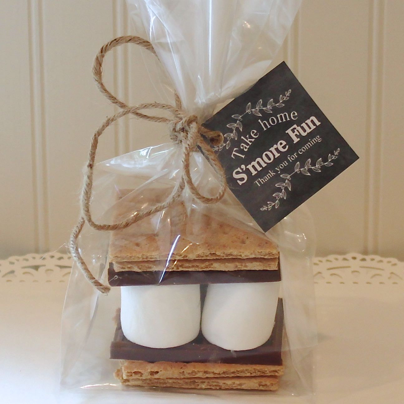 S'more Halloween Favor Kits, S'mores Kit,
