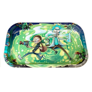 Rick And Morty Rolling Tray