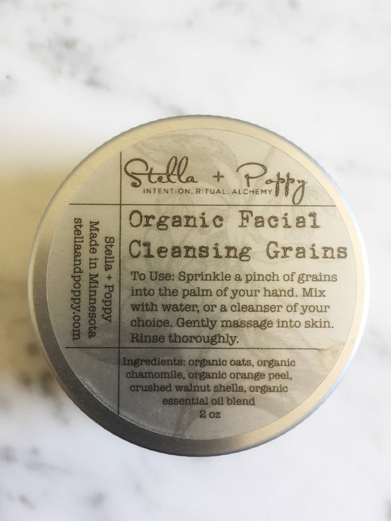 Organic Facial Cleansing Grains