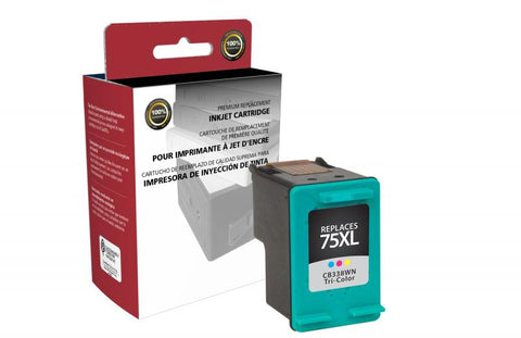 CIG High Yield Tri-Color Ink Cartridge for HP CB338WN (HP 75XL)