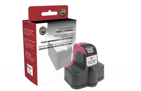 CIG Magenta Ink Cartridge for HP C8772WN (HP 02)
