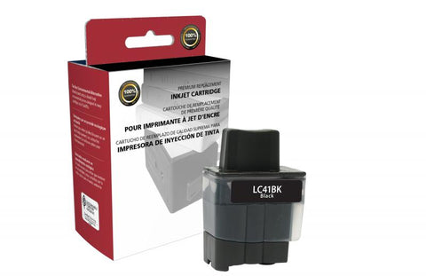 CIG Black Ink Cartridge for Brother LC41