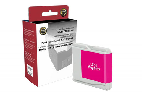 CIG Magenta Ink Cartridge for Brother LC51