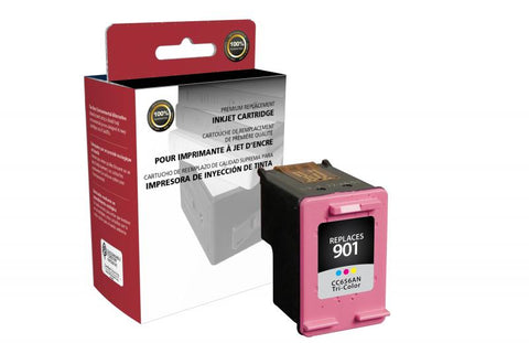CIG Tri-Color Ink Cartridge for HP CC656AN (HP 901)