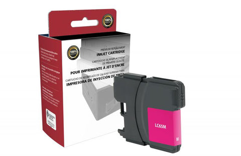 CIG High Yield Magenta Ink Cartridge for Brother LC65