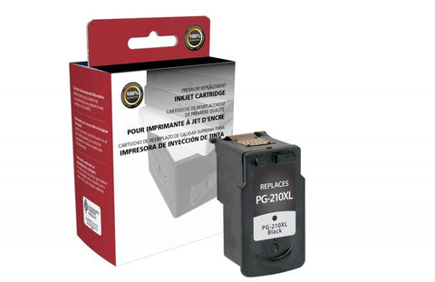 CIG High Yield Black Ink Cartridge for Canon PG-210XL