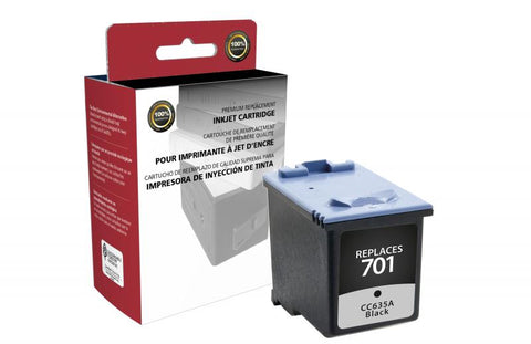 CIG Black Ink Cartridge for HP CCC635A (HP 701)