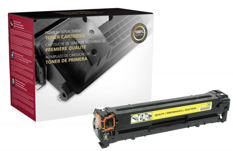 CIG Yellow Toner Cartridge for HP CB542A (HP 125A)