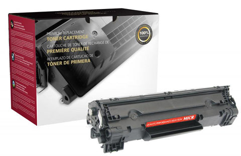 CIG MICR Toner Cartridge for HP CB436A (HP 36A), TROY 02-81400-001