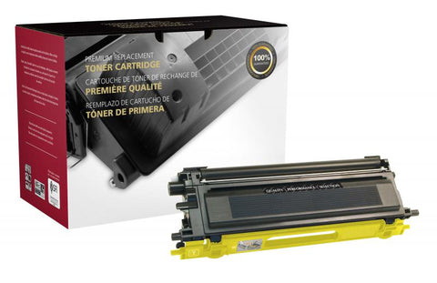 CIG Yellow Toner Cartridge for Brother TN110