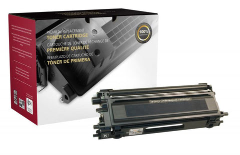 CIG High Yield Black Toner Cartridge for Brother TN115