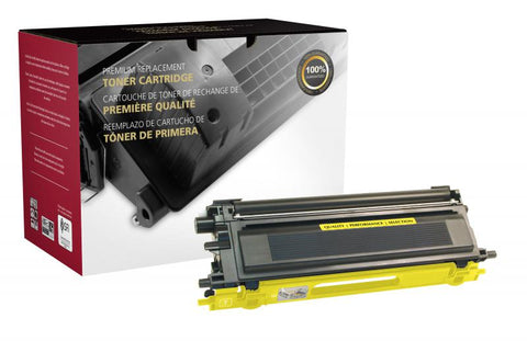 CIG High Yield Yellow Toner Cartridge for Brother TN115