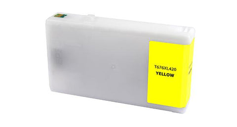 CIG Yellow Ink Cartridge for Epson T676XL420