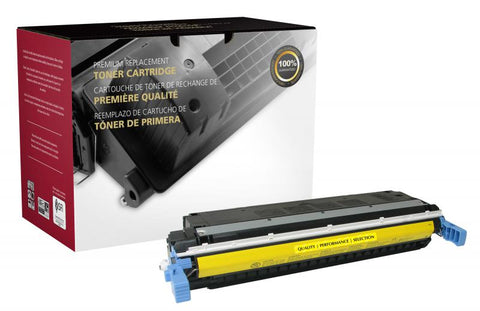 Clover Technologies Group, LLC CIG Compatible Yellow Toner Cartridge (Alternative for HP C9732A 645A) (12000 Yield)