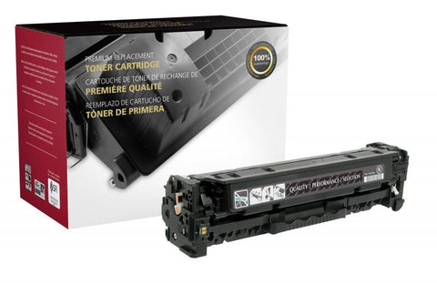 Clover Technologies Group, LLC CIG Compatible High Yield Black Toner Cartridge (Alternative for HP CE410X 305X) (4000 Yield)
