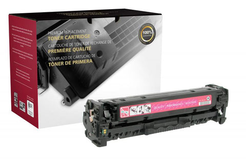 Clover Technologies Group, LLC CIG Compatible Magenta Toner Cartridge (Alternative for HP CE413A 305A) (2600 Yield)