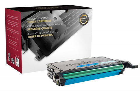 CIG Cyan Toner Cartridge for Samsung CLT-C609S