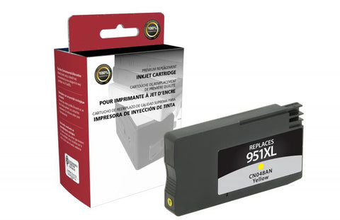 Clover Technologies Group, LLC Compatible High Yield Yellow Ink Cartridge for HP CN048AN (HP 951XL)