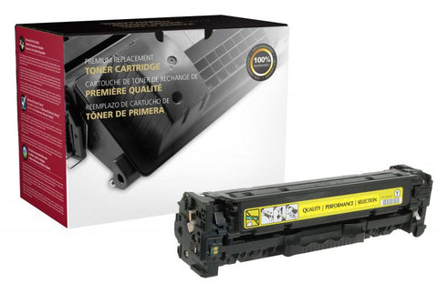 Clover Technologies Group, LLC CIG Compatible Yellow Toner Cartridge (Alternative for HP CC532A 304A) (2800 Yield)