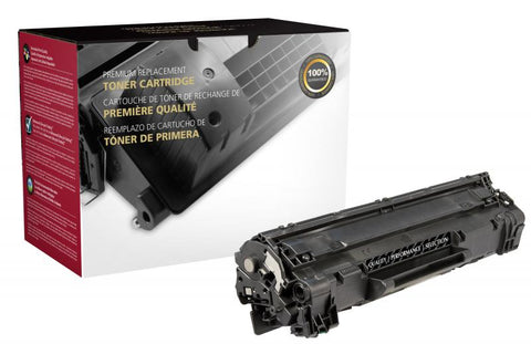 Clover Technologies Group, LLC CIG Compatible Extended Yield Toner Cartridge (Alternative for HP CE285A 85A) (2300 Yield)