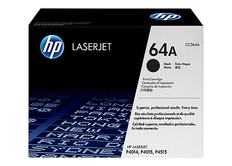 HP 64X (CC364XC) LaserJet P4015 P4515 High Yield Original LaserJet Contract Toner Cartridge (24000 Yield)