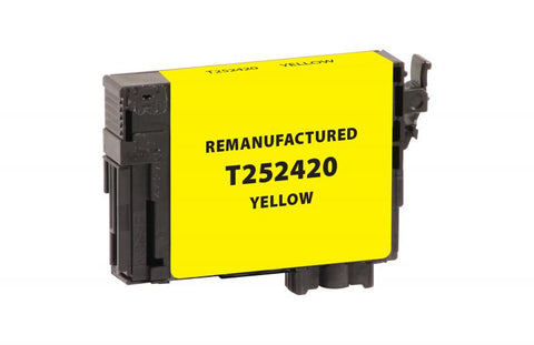 EPC EPC Remanufactured Yellow Ink Cartridge for Epson T252420