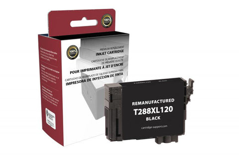 EPC EPC Remanufactured High Capacity Black Ink Cartridge for Epson T288XL120
