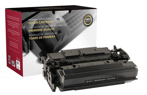 Clover Technologies Group, LLC Compatible High Yield Toner Cartridge for HP CF287X (HP 87X)