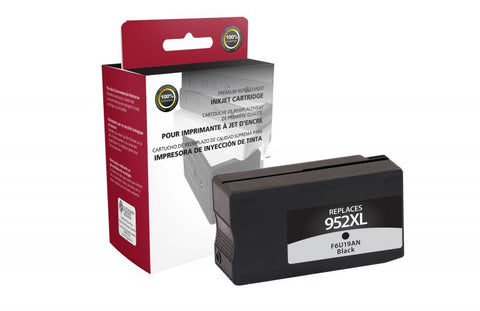 Clover Technologies Group, LLC Remanufactured High Yield Black Ink Cartridge for HP F6U19AN (HP 952XL)