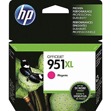 HP 951XL (CN047AN) High Yield Magenta Original Ink Cartridge (1500 Yield)