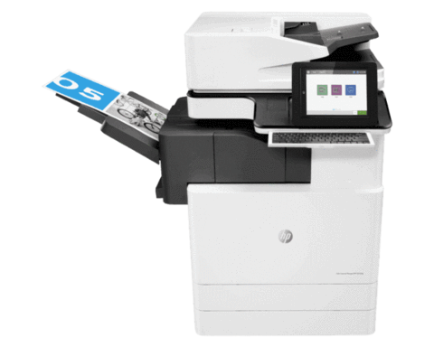 HP Color LaserJet Managed MFP E87650z