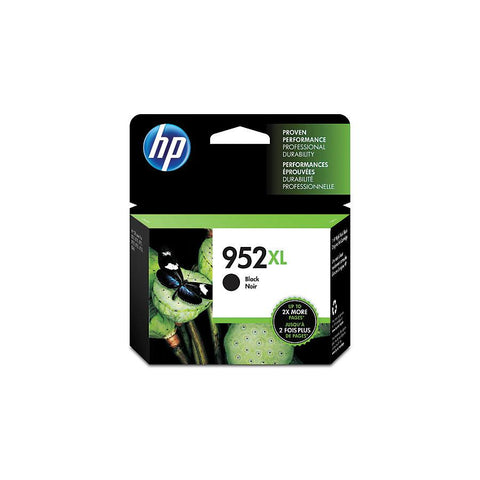HP 952XL (F6U19AN) High Yield Black Original Ink Cartridge (2000 Yield)