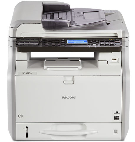 Ricoh  SP3610SF B&W MULTIFUNCTION PRINTER