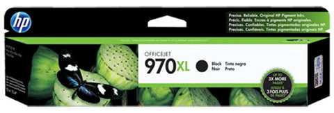 HP 970XL (CN625AM) High Yield Black Original Ink Cartridge (9200 Yield)