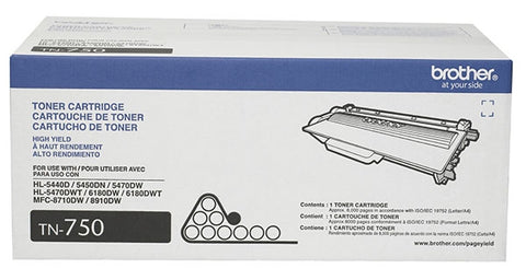 Brother High Yield Toner Cartridge (8000 Yield)