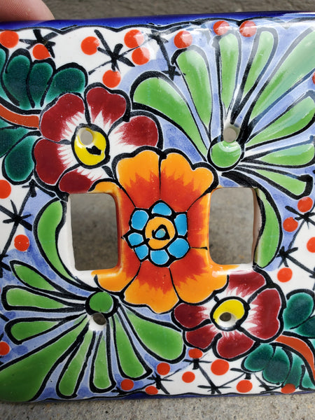 Talavera Double Switch Plate