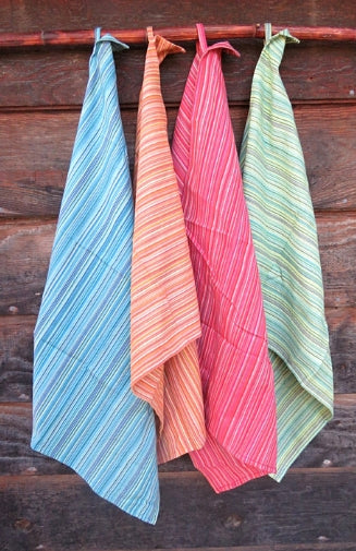 Cotton Dish Towel - Stripes