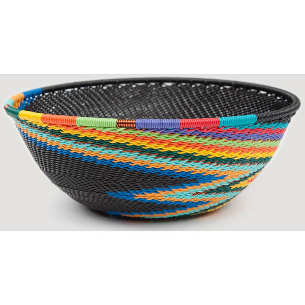 Telephone Wire Bowl Small Round