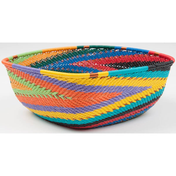 Telephone Wire Bowl Medium Square