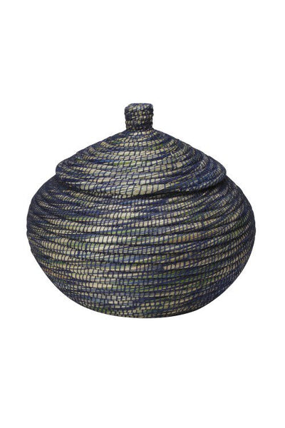 Bogra Lidded Storage Basket