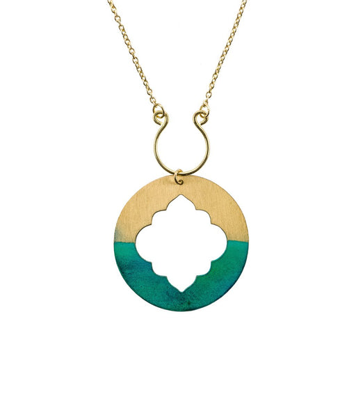 Ashram Necklace w/ Teal