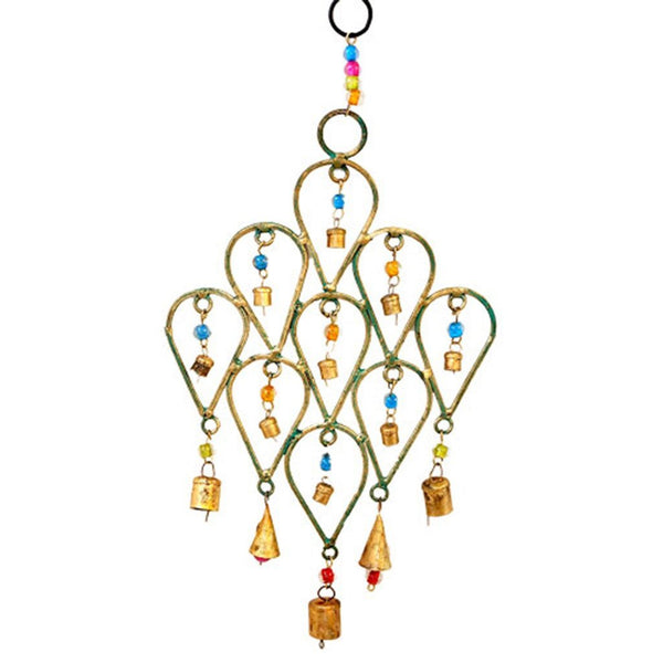 Beaded Teardrop Chimes