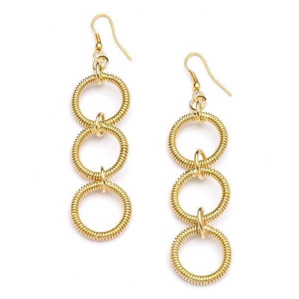 Gold Rings Earrings
